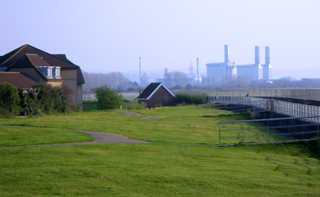 Factory in Avonmouth